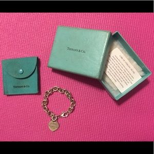 Jewelry - Tiffany & Co. Bracelet with box and pouch